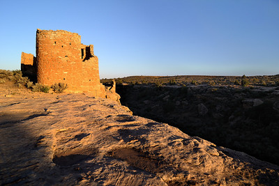 Hovenweep Castle at Sunset Hovenweep National Monument