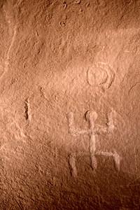 Petroglyphs Comb Ridge