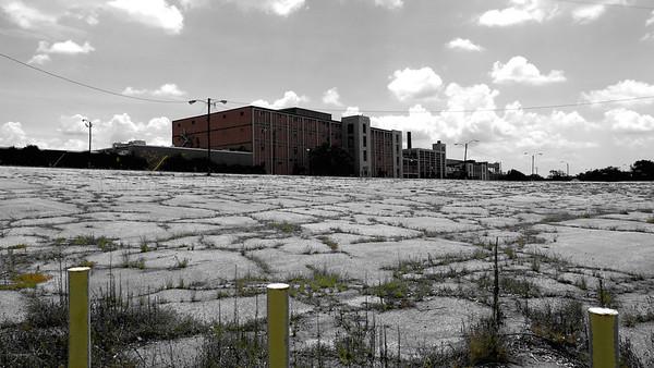 Shuttered Cotton Mill