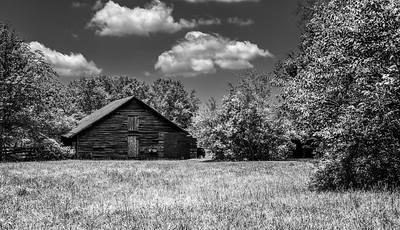The Old Barn in Spring