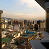 View from the hotel, the Mercure Alameda, Quito, Ecuador