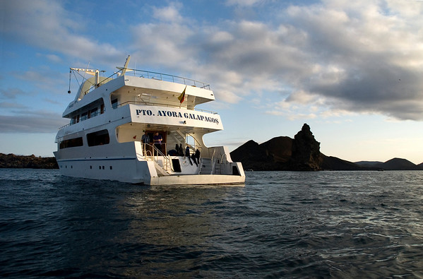 Returning to the boat...the Galaxy, Galapagos Islands