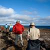 hiking Genovesa Island, Galapagos