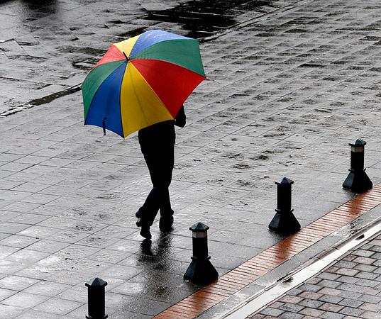 Rainy Quito, Ecuador