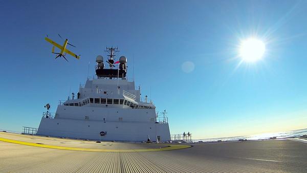 Aerovel Flexrotor Arctic Ocean (2016)