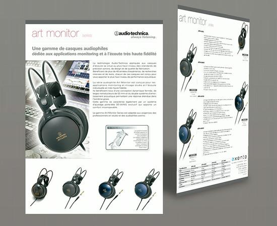 Audiotechnica Axente - Fiche produit