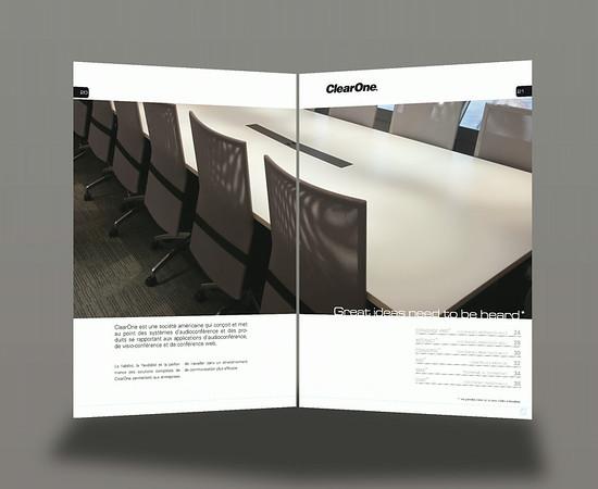 Axente - ClearOne - Catalogue général produits audio 256 pages