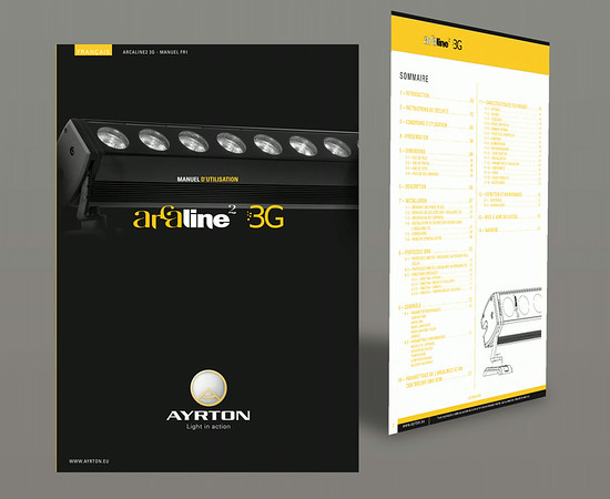Ayrton - Manuel d'utilisation - 16 pages