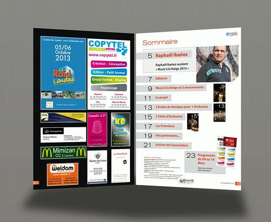 Music'à la Neige 2013 - Brochure 24 pages