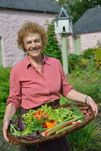 Elisabeth Luard,food author.View Wales. Visit Wales