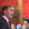 Chris Bryant MP talking at the House of Commons
