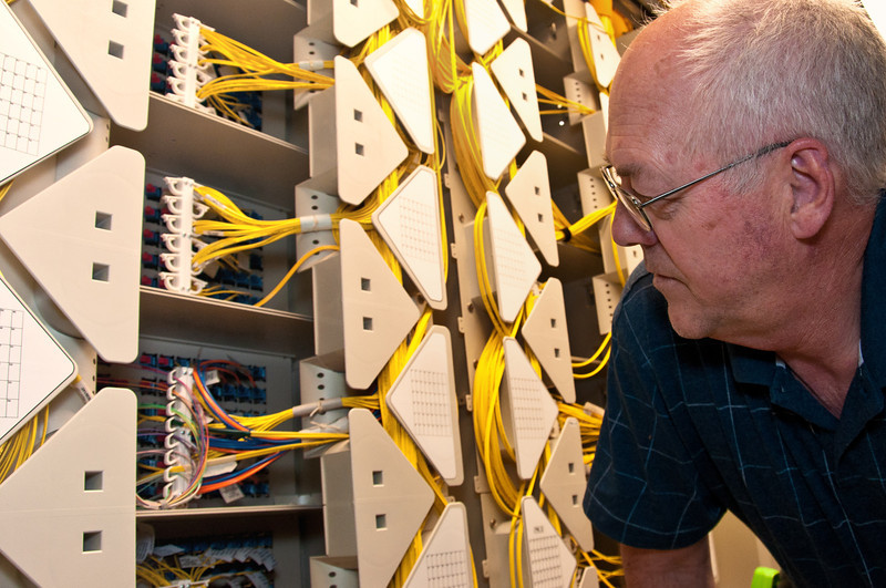 Inspecting voice over IP network in telecom switching center