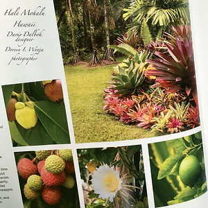Garden Design magazine, the fruits of Hale Mohalu