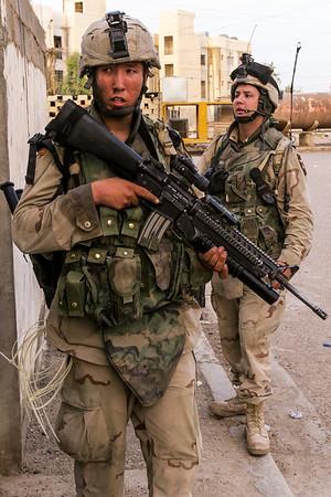 Ramadi, Iraq. 24 April, 2005.