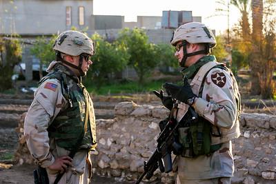 Al Anbar Province, Iraq. 14 March, 2005.