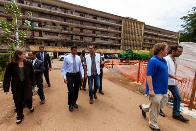 Conakry, Guinea. 16 October, 2014.