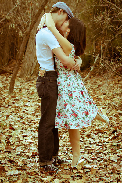 Like Noah and Allie from the Notebook, Becca and Joe are ADORABLE!