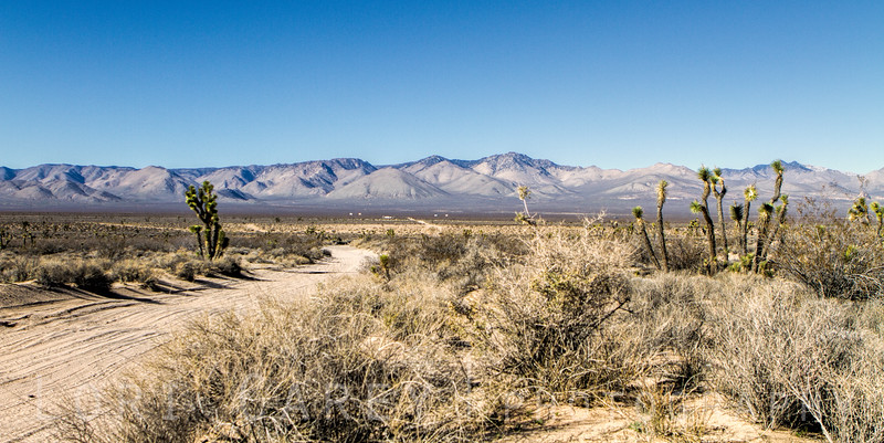The El Paso Mountains in the Mojave Desert are located at the far southeastern end of the Sierra Nevada Range.