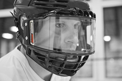 More fun hockey Photo work for Hockey Face Shields.