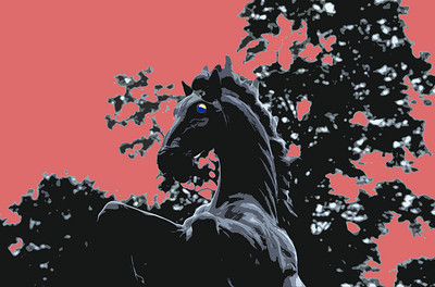 RED HORSE SOLARIZED
