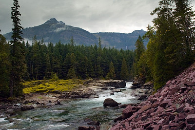 Flathead River - Glacier National Park