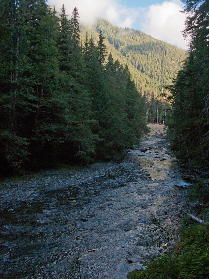 Upper Elwha River, Olympic National Park, Washington
