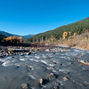 Elwha River, Olympic National Park, Washington.