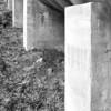 Penstock Cement Support Columns, Elwha Dam, Washington.