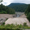 Former Elwha Dam site, July 20, 2012.