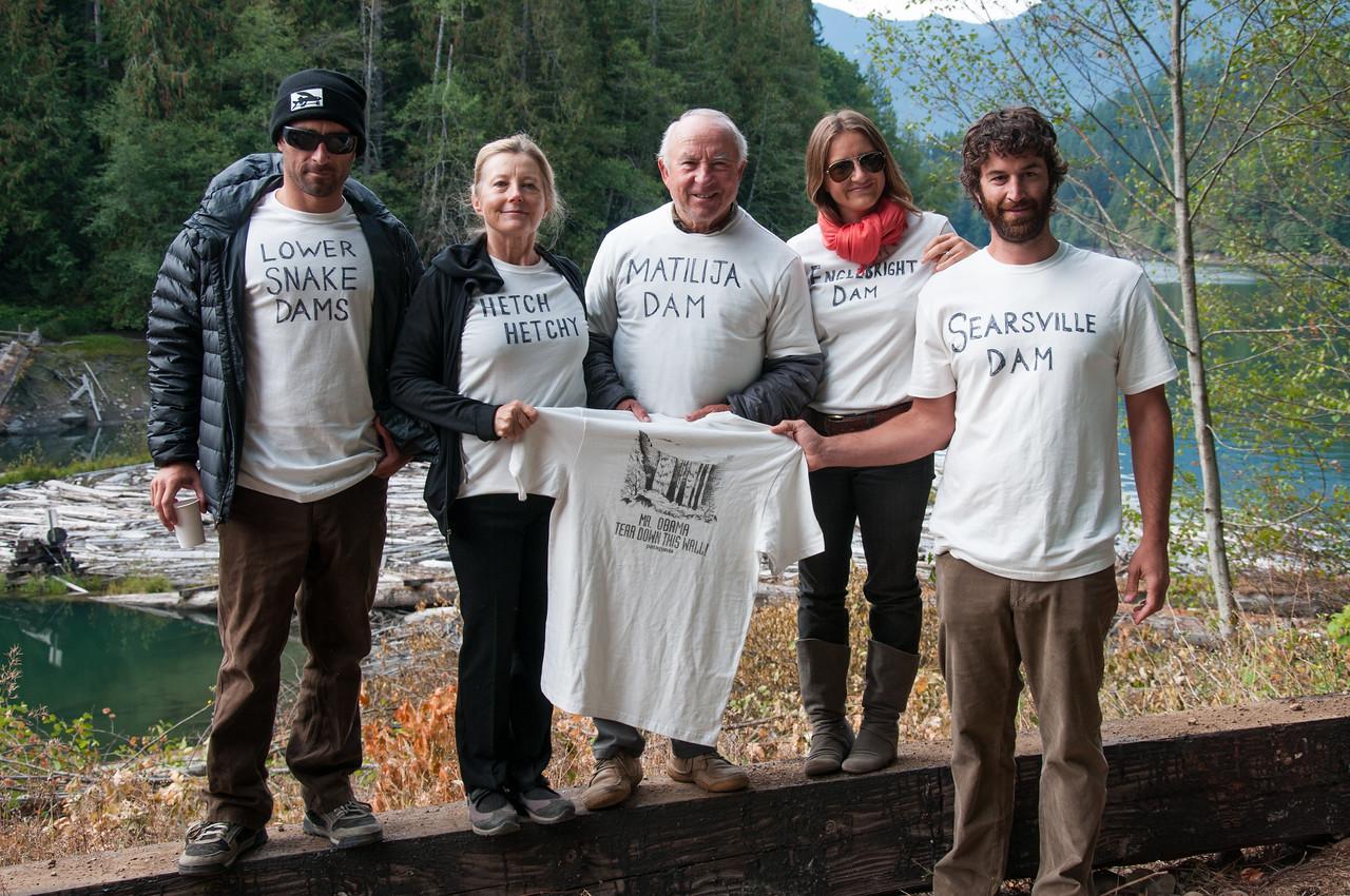 Yvon Chounard and company. Wild river activists.