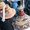 Traditional Lower Elwha Klallam cedar hats.