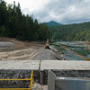 September 17, 2011. First Day of Dam Deconstruction, Elwha Dam, Washington.