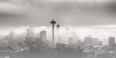 Foggy Seattle