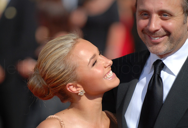 Hayden Panettiere on the red carpet at the Emmys - Heroes