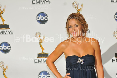 Lauren Conrad on the red carpet at the Emmys