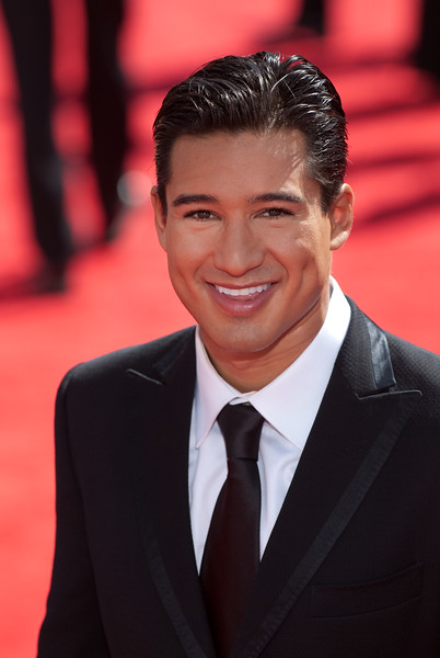 Mario Lopez on the red carpet at the Emmys