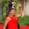 Queen Latifah on the red carpet at the Emmys - Life Support