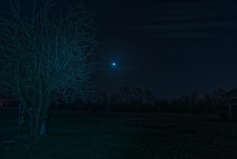 The Christmas Long Nights Moon