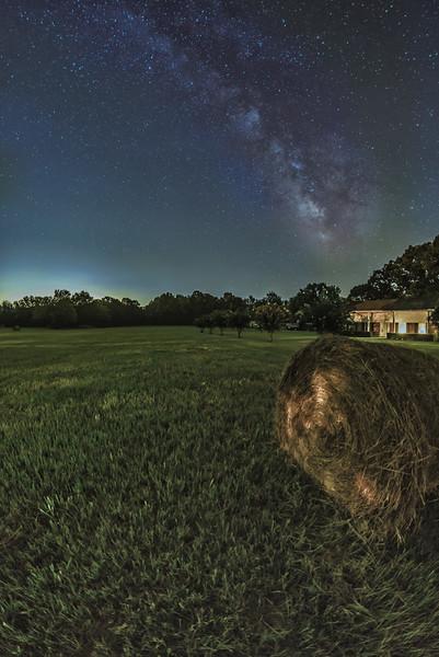 Cosmos over the Farm