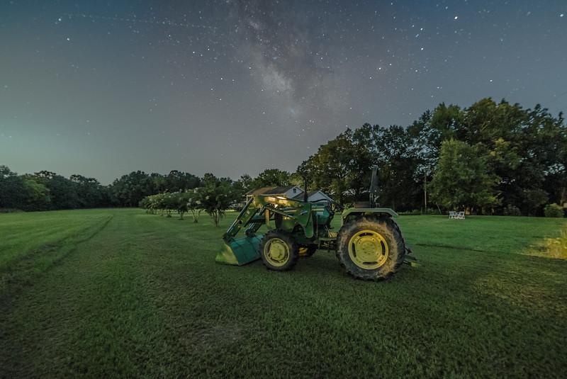 John Deer and Milky Way