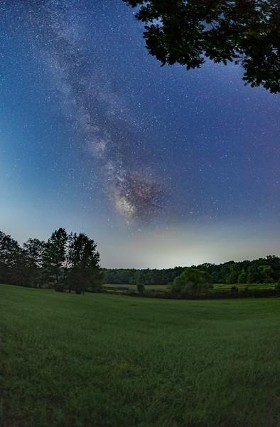 Backyard View of Night Astro