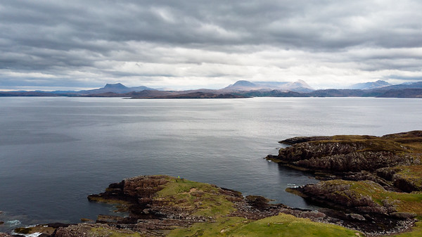 Inverpolly from Mellon Udrigle