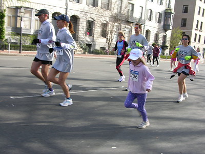 Little marathoner.