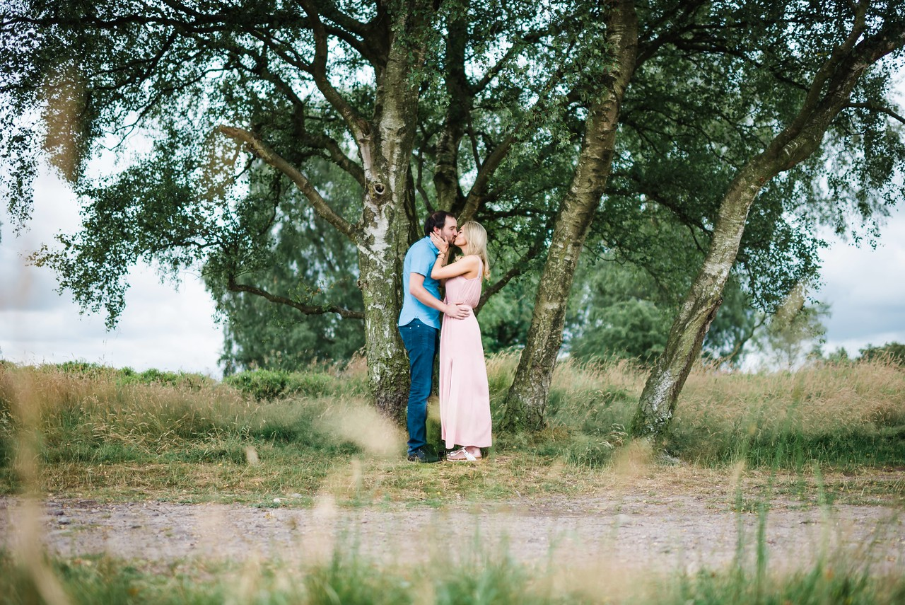 Cannock Chase, Staffordshire. Couples Photography and pre wedding photography