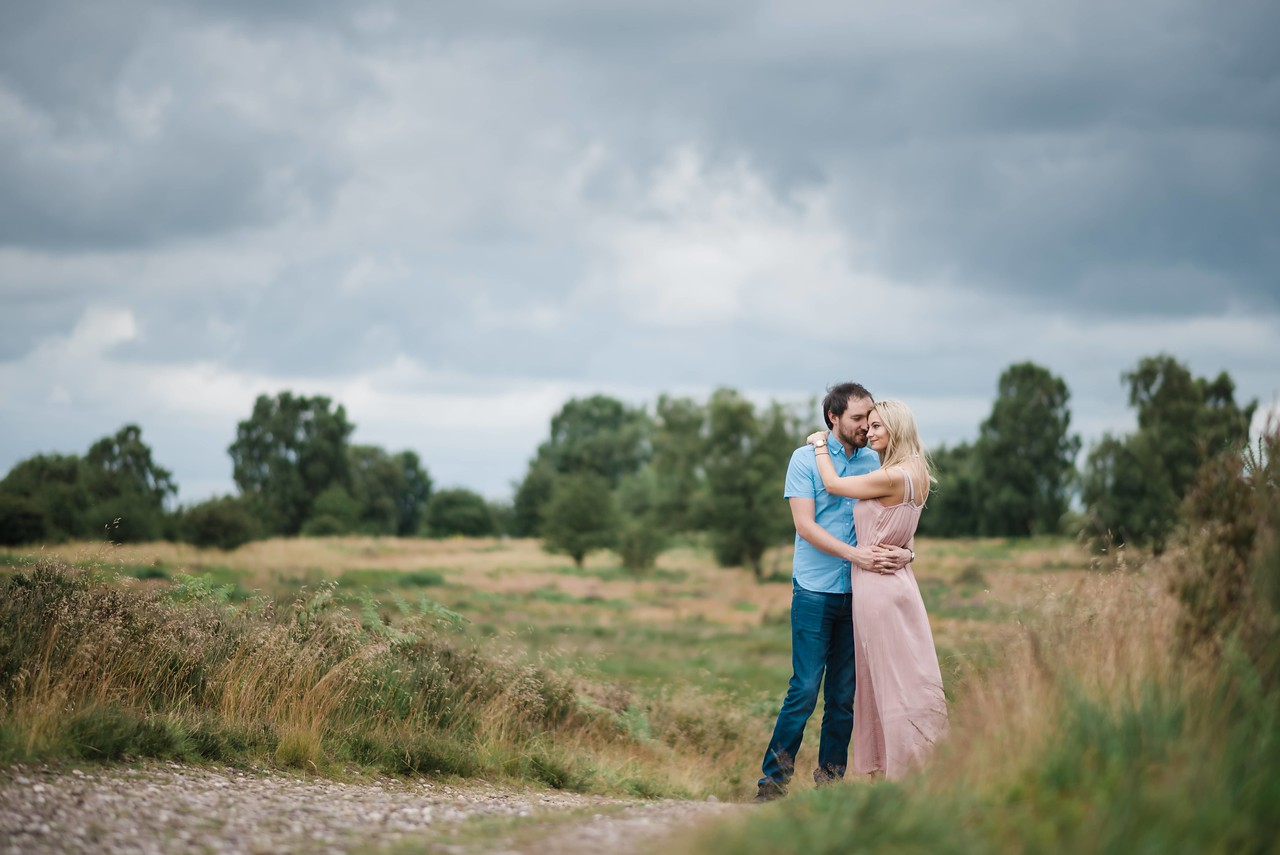 Cannock Chase, Staffordshire. Couples Photography