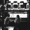 Cafe Engagement Photos