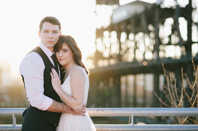 Portland Steele Bridge Engagement