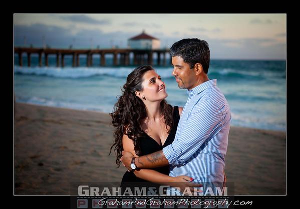 Manhattan Beach engagement photography