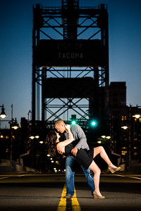 City of Tacoma Bridge Night Engagement