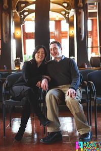 Vicki and Jonathan Engagement